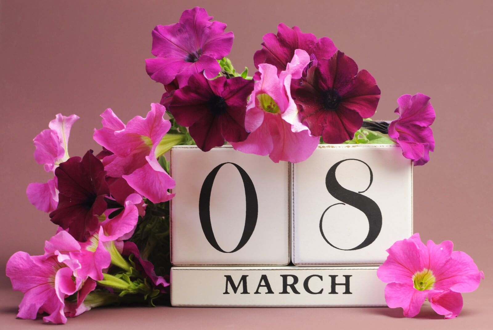 С 8 марта - первым весенним, самым теплым и солнечным праздником!